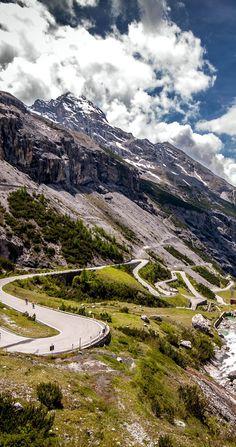 Passo Dello Stelvio Road in Italian Alps   |    23 Roads you Have to Drive in Your Lifetime