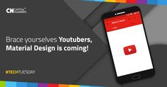 Google is continuing to roll out its Material Design makeover across its desktop products and it looks like an update to YouTube isn't too far away. Know how to enable it here: http://bit.ly/1X57Iai