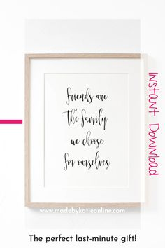 Instant Download Friendship Quotes