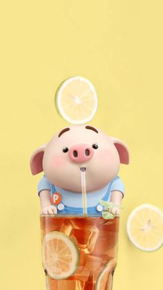 微博 Pig Wallpaper, Animal Wallpaper, Disney Wallpaper, Iphone Wallpaper, This Little Piggy, Little Pigs, Cute Piglets, Pig Illustration, Mini Pig
