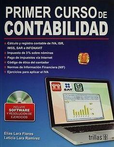 PRIMER CURSO DE CONTABILIDAD C/CD  ELIAS LARA FLORES  SIGMARLIBROS