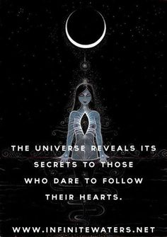 Following your heart.