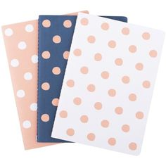 A5 ESSENTIAL NOTEBOOK 3PK HERE NOW (£7.06) ❤ liked on Polyvore featuring home, home decor, stationery, fillers, school, stationary, backgrounds and notebook