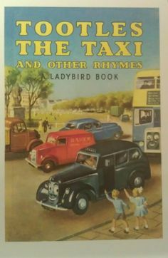 Ladybird book - Tootles The Taxi. My Mum used to read this to us and she still had the book which she reads to her grandchildren now :-) Ladybird Books, Book Jacket, Vintage Children's Books, Children's Literature, Childhood Memories, 1980s Childhood, My Children, Childrens Books, My Books