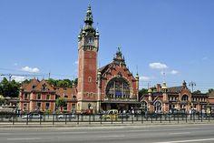 Gdansk, Poland, Railway Station