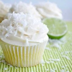 Yum!! Lime and coconut cupcakes!?! According to the calendar it's winter. According to the high 80's temperature that we've been having here in Southern California, it's Summer!! Which makes me want to eat summer treats! Nothing is more refreshing than the flavors of lime and coconut. So of course I had to make it into...Read More