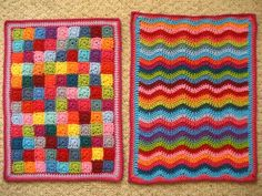 Crochet Doll Blankets by Lucy of Attic24  #TheCrochetLounge #inspired #attic24