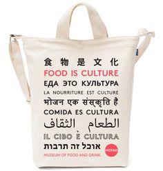 """MOFAD """"Food is Culture"""" Tote Bag"""