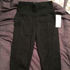 Size 10 In Flux Crop Lululemon pants Size 10 In Flux Crop Lululemon pants. NWT lululemon athletica Pants Capris