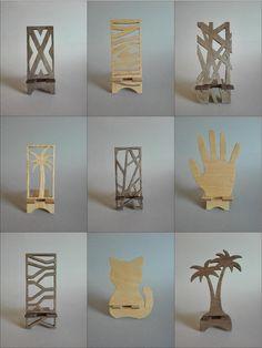 Support de téléphone en bois support de téléphone pour par WeeTree