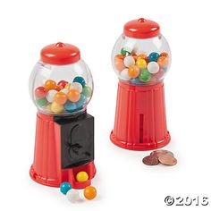Gumball Machine Toy Banks with Gum (8)