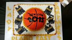 Senior Night Basketball Cake