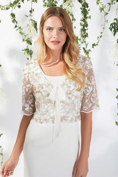 Lily Dress And Jacket Beige Mother of the Bride Lily Dress, Spring Summer 2018, Types Of Sleeves, Mother Of The Bride, Chiffon, Beige, Jackets, Tops, Dresses