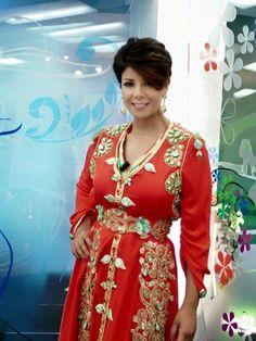 Leila Hadioui Caftan Marocain Luxe 2015 en Photos | Caftan Marocain Boutique