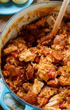 Turn it into this delicious Leftover Turkey Jambalaya. Leftover Turkey Recipes, Leftovers Recipes, Turkey Leftovers, Leftover Ham, Louisiana Recipes, Southern Recipes, Spicy Turkey Recipe, Jambalaya Recipe, Roast Beef Recipes
