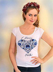 T-shirt - I Love FOLK...