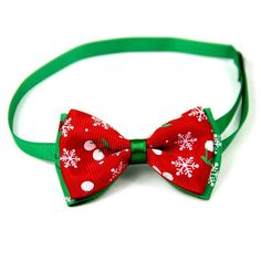 Christmas Holiday Dog Collar Bow TieDog Christmas Bow Tie With Adjustable Neck Strap Adjustable cm 9 PatternsSuitable For Small Dog Or Puppy Cat Bow Tie, Bow Tie Collar, Bow Ties, Fancy Dog Collars, Christmas Animals, Christmas Dog, Cat Dog, Cute Cats And Dogs, Cat Accessories