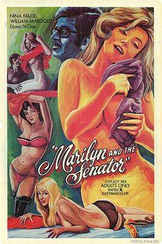 Cartazes de filmes pornôs de antigamente - ((( TRETA )))
