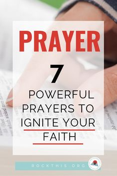 Encouraging Bible Verses:Need help reigniting your prayer life? Here is a great article with prayers to get you started, and the best part? They're based on actual Scripture. Prayer Scriptures, Bible Prayers, Prayers For Healing, Faith Prayer, Prayer Quotes, My Prayer, Bible Verses, Guidance Quotes, Prayer Ideas