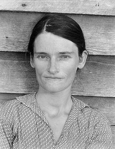 Walker Evans for Farm Security Administration - 1935 - Allie May Burroughs, a symbol of the Great Depression