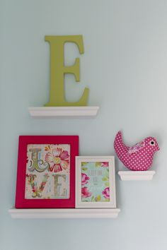 Project Nursery - Aqua, Pink and Green Nursery Accents