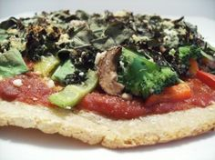 Engine 2 Diet vegan pizza