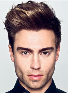 The Wavy Squre Quiff Hairstyle ht5 Wavy Quiff Hairstyles For Men 2014