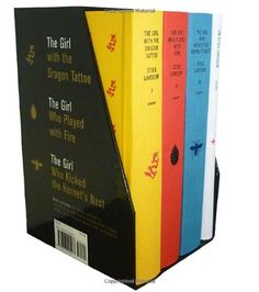 Stieg Larsson's Millennium Trilogy Deluxe Boxed Set: The Girl with the Dragon Tattoo, The Girl Who Played with Fire, The Girl Who Kicked the Hornet's Nest, Plus On Stieg Larsson - Stieg Larsson. Shopswell | Shopping smarter together.™