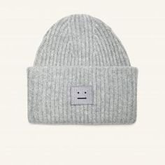 Pansy H Wool Hat (silver grey melange)