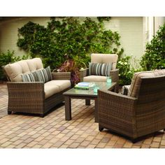 Home Depot Outdoor Furniture Farmhouse Bench Home Furniture Colour Painting Wooden Furniture, Furniture Layout, Home Furniture, Outdoor Furniture Sets, Outdoor Decor, Home Depot, Fire Pit Patio, Coaster Furniture, Base Cabinets