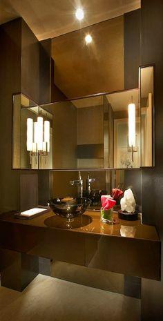 badezimmer deko badezimmer gestalten in grau eisernes waschbecken eckiger spiegel