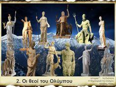 Ιστορία Γ΄, 1η Ενότητα - 2. Οι θεοί του Ολύμπου by iliasili via authorSTREAM