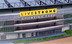 Livestrong Sporting Park, home of Sporting Kansas City