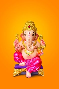 Shri Ganesh Images, Durga Images, Ganesha Pictures, Ganesh Idol, Ganesha Art, Ganesh Tattoo, Ganesh Statue, Ganpati Bappa Wallpapers, Happy Ganesh Chaturthi Images
