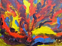 Fuego by MARIE CHRISTINE LEGEAY