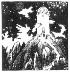 Happy Moomin - Comet in Moominland illustrations Ink Illustrations, Children's Book Illustration, Les Moomins, Book Art, Moomin Valley, Tove Jansson, Finland, Art Inspo, Fairy Tales