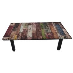 Shop for ArtHouse Innovations Old Wood Grunge Suede Upholstered Coffee Table. Get free shipping at Overstock.com - Your Online Furniture Outlet Store! Get 5% in rewards with Club O!