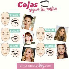 Guía práctica: cejas según tu rostro | En tus Zapatos