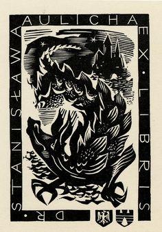 A. Utodzianowski, 1960, Ercolini bookplate collection