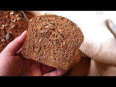 Teljes kiőrlésű kenyér rozsliszttel és magvakkal - Otthoni kenyérsütés (ideális kezdőknek is)! - YouTube Bread, Food, Youtube, Brot, Essen, Baking, Meals, Breads, Buns