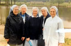 Sister siblings, four of whom were Daughters of Charity:  Copied photo from 1992 of the five Wheeler sister nuns on Tuesday, Jan. 22, 2013, at Louise House in Menands, N.Y. From left are sisters Elaine, Mary Cecelia, Zoe, Jean Marie and Madeline. Elaine and Jean Marie just recently died within 24 hours of each other. (Cindy Schultz / Times Union)    Read more: http://www.timesunion.com/local/article/Sisters-were-Sisters-inseparable-to-the-end-4215513.php#ixzz2IpiTeFb3
