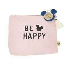 ec77d0034f8b Junk Food Mickey Be Happy Cosmetic Bag - Pink. Junk FoodCosmetic BagMickey  MouseUnicornPouchTargetToiletry BagMakeup ...