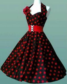 Vestidos pin-up: fotos modelos