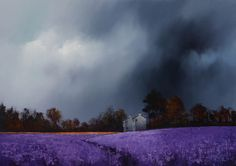 Artist: Barry Hilton Title: Lavender Fields IV (Original)