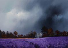 Barry Hilton - Lavender Fields IV (Original)
