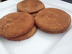 Paleo Snickerdoodle Cookies -- gluten-free