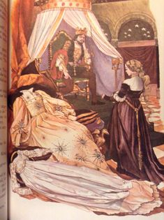 Donkey Skin, the Princess asks for three gowns.  http://ebooks.adelaide.edu.au/p/perrault/charles/fairy_tales/chapter10.html