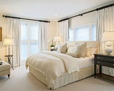 Linen White Bedroom Inspiration