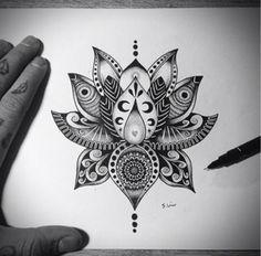 Lotus dessin