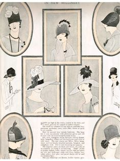 Spring Easter Fashions-1925 Delineator Magazine-1920s Fashions | Vintage Style Files